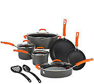As Is Rachael Ray Hard Anodized 12-Piece Cookware Set - K307222