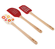 Cake Boss 3-Piece Silicone Kitchen Tool Set - K39922