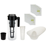Takeya Iced Tea Beverage System with Infuser - K41622