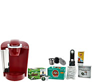 Keurig K55 Coffee Maker w/ My K-Cup, 31 K-Cup Pods & Filters - K44622