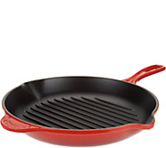 Le Creuset Enameled Cast Iron 10.25 Round Grill Pan - K45622