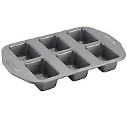 Circulon Nonstick Bakeware 6-Cup Mini-Loaf Pan - K302923