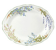 Mikasa Botanical Bouquet Oval Platter - K299224