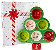 Temp-tations Tree Shaped Muffin Pan in Gift Box - K42724