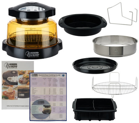 Nuwave Pro Plus 8 In 1 Digital Oven With 2 Pc Baking Set
