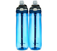 Contigo Set of 2 24oz. Ashland Water Bottles - K43625