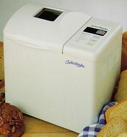 Mr Coffee Bread Maker Recipes : Mr. Coffee The Bread Maker 2 lb. - white QVC.com