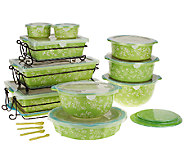 As Is Temp-tations Floral Lace 24-pc Oven-to- Table Set - K292126