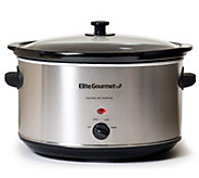 Elite Platinum 8.5-qt Stainless Steel Slow Cooker - K302126