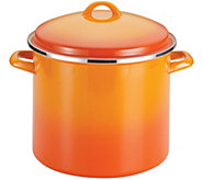 Rachael Ray Enamel on Steel 12-qt Covered Stockpot - K304426