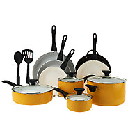 As Is SilverStone Ceramic Nonstick 13-pc. Cookware Set - K307226