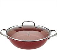 As Is Cooks Essentials 4qt Lightweight Cast Iron Braiser w/ Lid - K307726