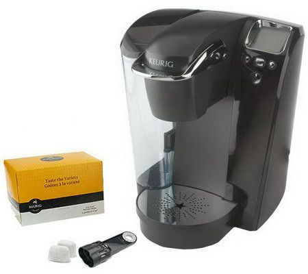 Keurig B76 Platinum Coffee Maker w/ 12ct Variety Pack & Water Filter QVC.com
