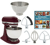 KitchenAid 4.5qt. 300W Tilt Head Mixer with 3qt. Bowl - K43826