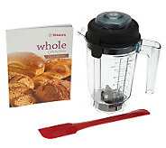 Vitamix 32 oz. Dry Ingredient Blending Jar with Spatula - K37427