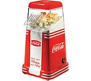 Nostalgia Electrics Coca-Cola 8-Cup Hot Air Popcorn Maker - K375927