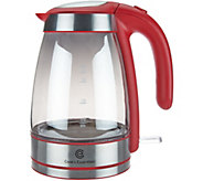 Cooks Essentials Mirrored Electric Tea Kettle - K45327
