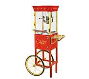 Nostalgia Electrics CCP-510 Circus Cart Popcorn Maker - K123928