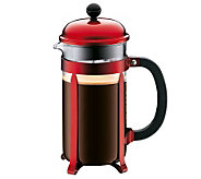 Bodum Chambord French Press 34-oz Coffee Maker- Red - K133228