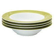 Rachael Ray Curly-Q Soup/Pasta Bowls - 4-Pack - K297528