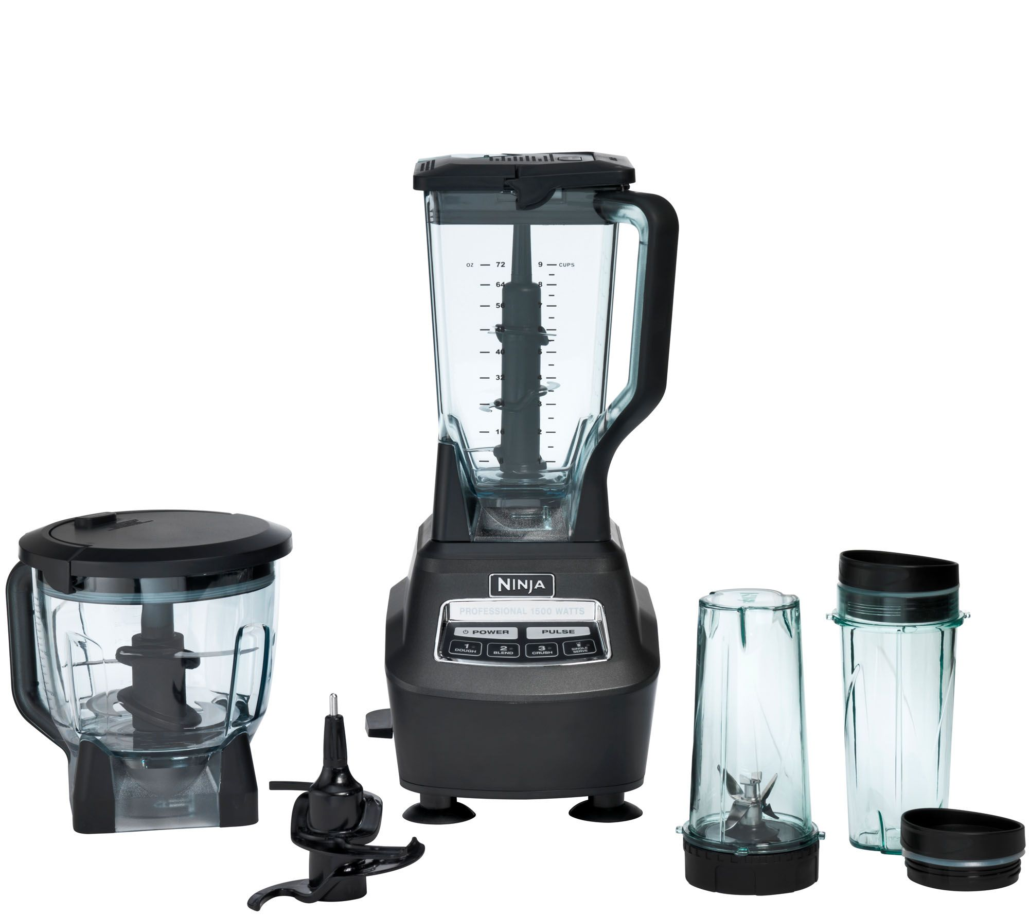 Uncategorized Qvc Kitchen Appliances ninja mega kitchen system table top blender page 1 qvc com