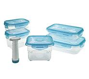 As Is Prepology 5 pc Tritan Vacuum Nesting Storage Set - K307628