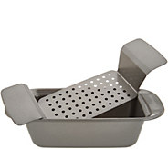 Rachael Ray Meatloaf Pan with Insert Tray - K46828