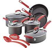 Rachael Ray Hard-Anodized Nonstick 12-Piece Cookware Set - K375329