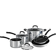 Tramontina Style Polished 8-Piece Cookware Set - K375829