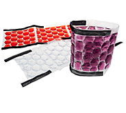 Rove 3-Piece Wine And Beverage Ice Wraps with Velcro - K39829