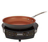 Nuwave Precision Induction Cooktop Gold w/ 10 1/2 Fry Pan - K44629