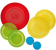 LidLover 7-pc. Silicone Container Covers - K45529