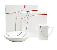 Mikasa Modernist Red 4-Piece Place Setting - K299130
