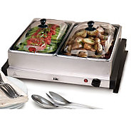 Elite Gourmet 2 x 2.5-qt. Electric Buffet Server - K302130