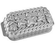 Nordic Ware Gingerbread Man Family Loaf Pan - K304730