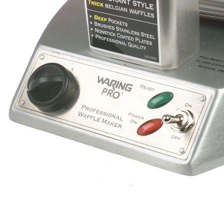 waring pro stainless steel waffle maker page 1 u2014 qvccom - Waring Pro Waffle Maker