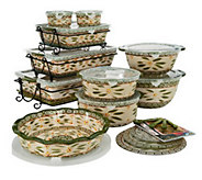 Temp-tations Old World 24-piece Complete Oven- to-Table Set - K38331