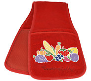 Cooking Buddy Embroidered Towel & Pot Holder by Campanelli - K42231