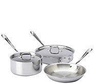 All-Clad Stainless Steel 5-Piece Cookware Set - K304832