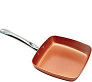 Copper Chef 11 Square Nonstick Skillet - K306932