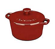 Cuisinart Enameled Cast-Iron 3-qt Round Casserole - K298333