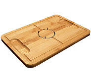 Snow River Gripper Maple Wood Carving Board - K302633