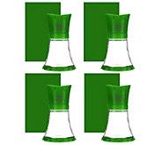 As Is Kuhn Rikon Set of 4 3.5oz. Glass Ceramic Grinders - K307633