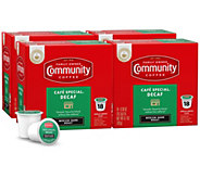 Community Coffee 72-ct Cafe Special Decaf Single-Serve Cups - K376333