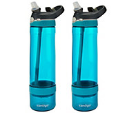 Contigo Set of 2 Fruit Infusion Water Bottles - K44133