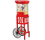 Nostalgia Electrics Old Fashioned Popcorn Cart - K300934