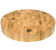Snow River Round Chopping Block 14Diam - K302134