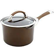 Circulon Symmetry Chocolate 3.5-qt Covered Straining Saucepan - K303534