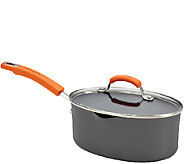 Rachael Ray Hard-Anodized II 3-qt Covered OvalSaucepan - K304434
