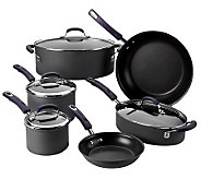 Rachael Ray 10-piece Hard Anodized Dishwasher Safe Cookware Set - K38334